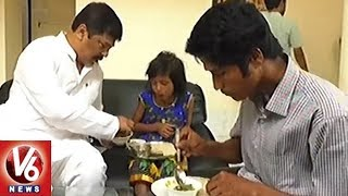 Tripura Health Minister Invites Locals For Breakfast Who Helped in Averting Train Accident | V6 News
