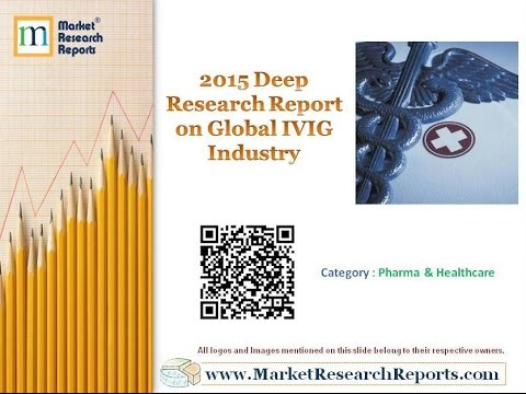 2015 Deep Research Report on Global IVIG Industry