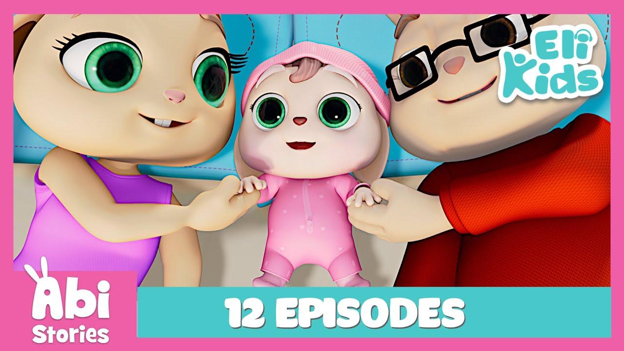Download Abi Stories | One Hour | 12 FULL Episodes | Eli Kids Educational Cartoon