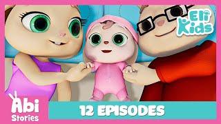 Abi Stories | One Hour | 12 FULL Episodes | Eli Kids Educational Cartoon