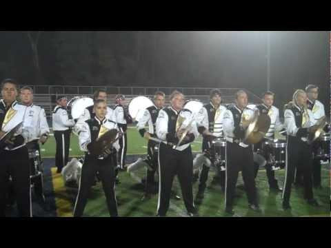WMU Drumline playing their street beat at Chelsea High School 2012
