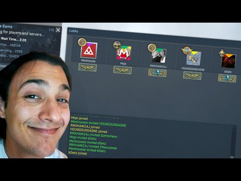 """CS GO COMPETITIVE W/ YOUTUBERS!!! """"Kids, Don't Do Adderall..."""" (Funny Moments)"""