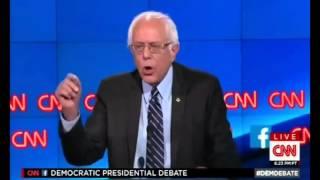 Bernie Sanders Highlights First Democratic Debate 2015