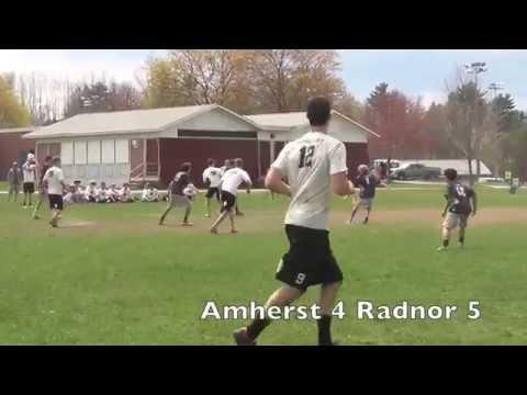 2015 Amherst Invitational- Radnor Ultimate vs. Amherst (Semifinals)