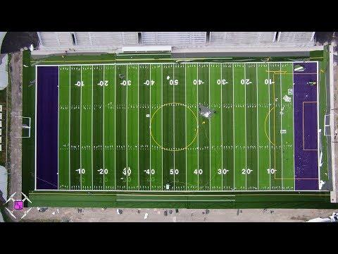 Hammer - Check Out Aerial Shots Of Waite High School Mollenkopf Stadium ReTurf