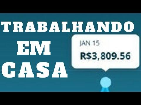 R$ 3.809,56 EM 1 DIA TRABALHANDO EM CASA - COMO GANHAR DINHEIRO NA INTERNET EM 2018