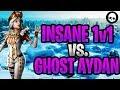 I 1v1'd The BEST Controller Fortnite Player! (Ghost Aydan INSANE 1v1)