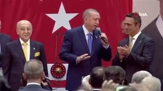 Cumhurbaşkanı Erdoğan Fenerbahçe Divan Kurulu'nda konuştu (2)