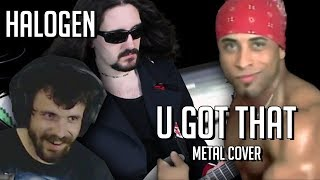 Halogen - U Got That (Metal Cover by LittleV) | Drum cover