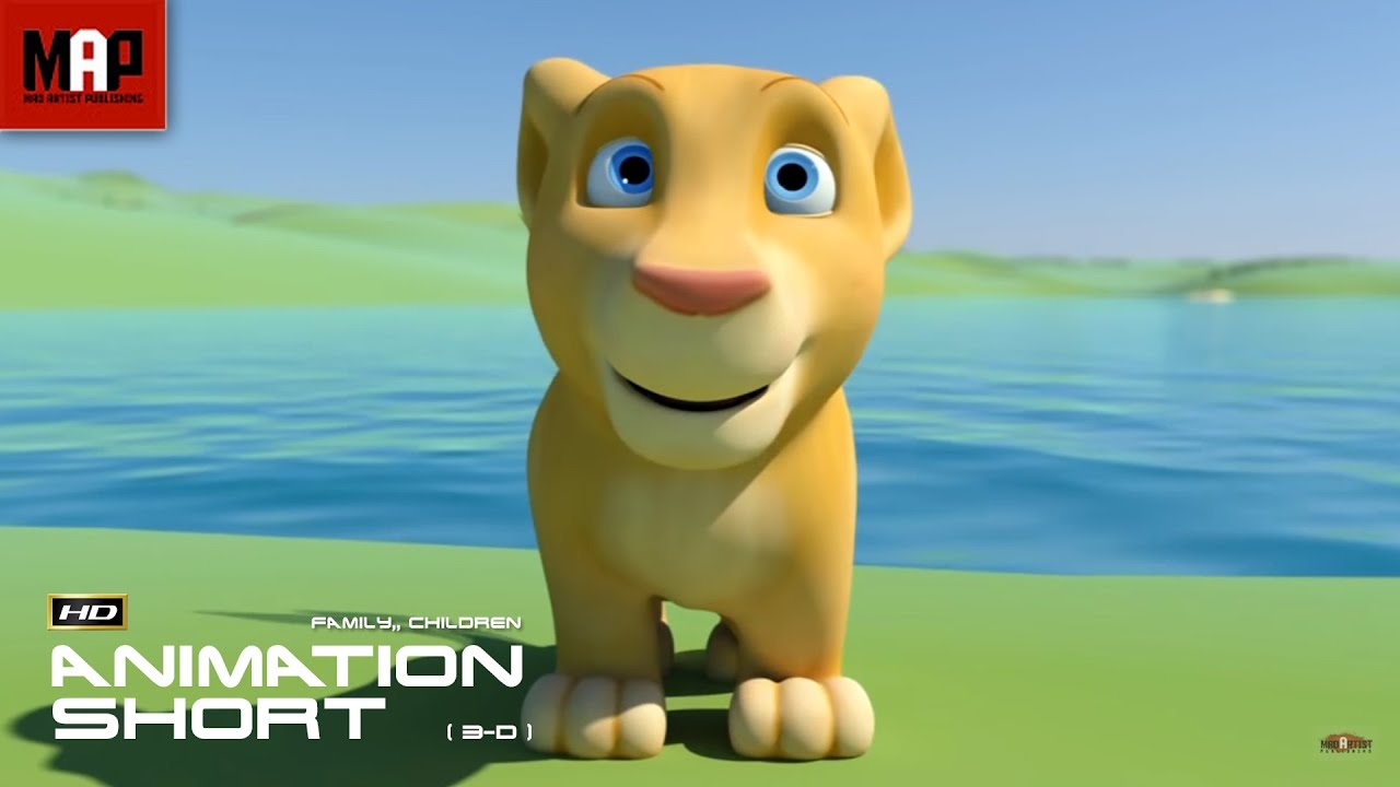 "CGI 3D Animated Short Film ""BIBI""- Funny Educational ..."