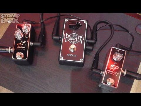 Dunlop Echoplex EP101 Preamp Vs Xotic EP Booster