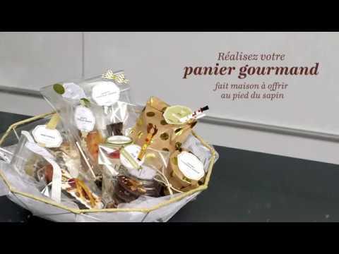 Les paniers gourmands à offrir - sucres et chocolats - YouTube
