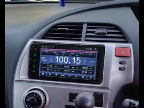 Штатная магнитола Toyota универсальная 2DIN (200x100мм) Android TAU6