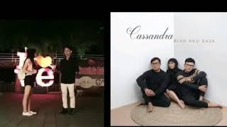 CASSANDRA BIAR AKU SAJA cover clip video