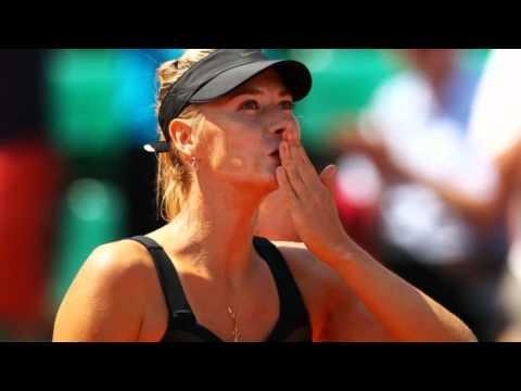 Sharapova wins at French Open
