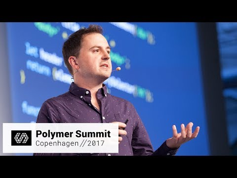 Efficient, Expressive, And Extensible HTML Templates (Polymer Summit 2017)