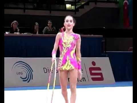 Burdiladze Salome Bremen 2010 gymnastics juniors