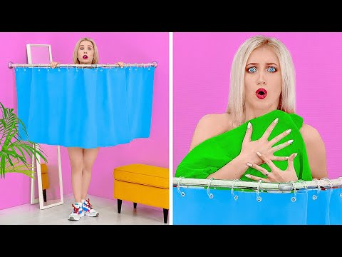 TALL VS SHORT PEOPLE PROBLEMS    Funny Situations With Short VS Long Legs by 123 GO!