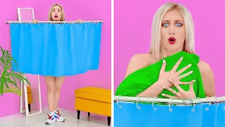 TALL VS SHORT PEOPLE PROBLEMS || Funny Situations With Short VS Long Legs by 123 GO!