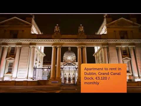 Apartment to rent in Dublin, Grand Canal Dock, €3,120 / monthly