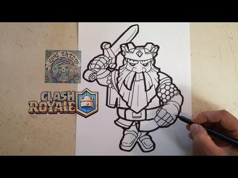 Como Dibujar Al Fantasma Real Clash Royale How To Draw