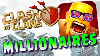 HOW TO BE A MILLIONAIRE PLAYING CLASH OF CLANS!!!