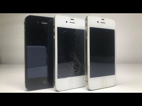 Fixing three cheap broken iPhones