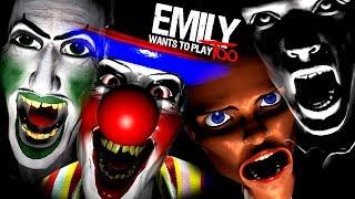 EMILY WANTS TO PLAY TOO ПРОХОЖДЕНИЕ #1 ► ПРОХОЖДЕНИЕ ХОРРОР ИГРЫ НА РУССКОМ   ИНДИ ХОРРОР ИГРА