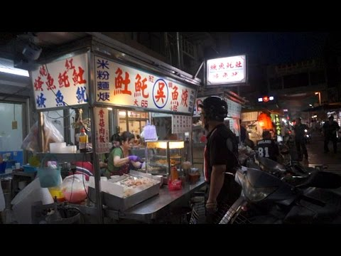 [Walking tour 漫步遊] Huanan Road Kaohsiung Taiwan 台灣 高雄 華南路夜市