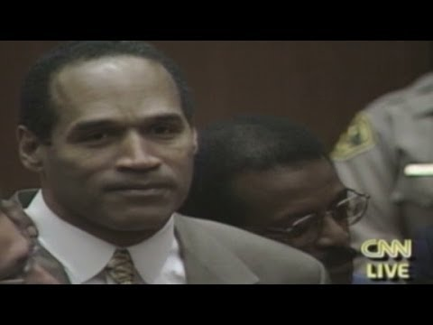(Raw) 1995: O.J. Simpson verdict is not guilty - YouTube