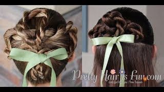 How To: St Patrick's Day Hairstyle: Shamrock Hairdo |Pretty Hair is Fun
