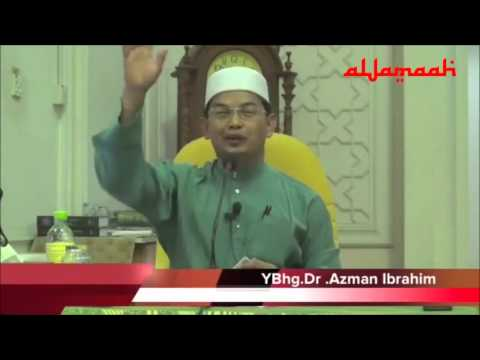 Dr Azman Ibrahim-Kepala digoncang syiah kerana pelik cara sembahyang