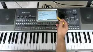 Общий обзор синтезатора KORG серии PA