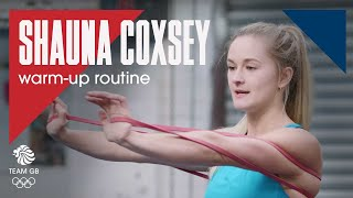 Shauna Coxsey's warm-up routine: Workout Wednesday 30.01.19