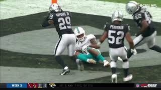 Dolphins threw it into the wrong endzone