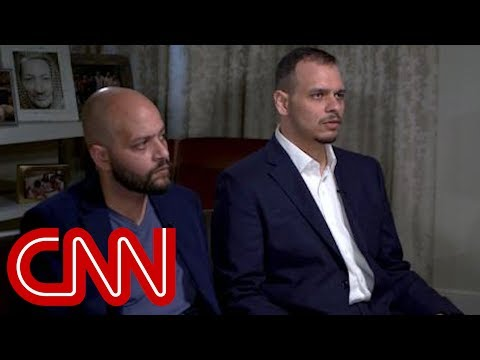 Sons of slain Saudi journalist speak to CNN