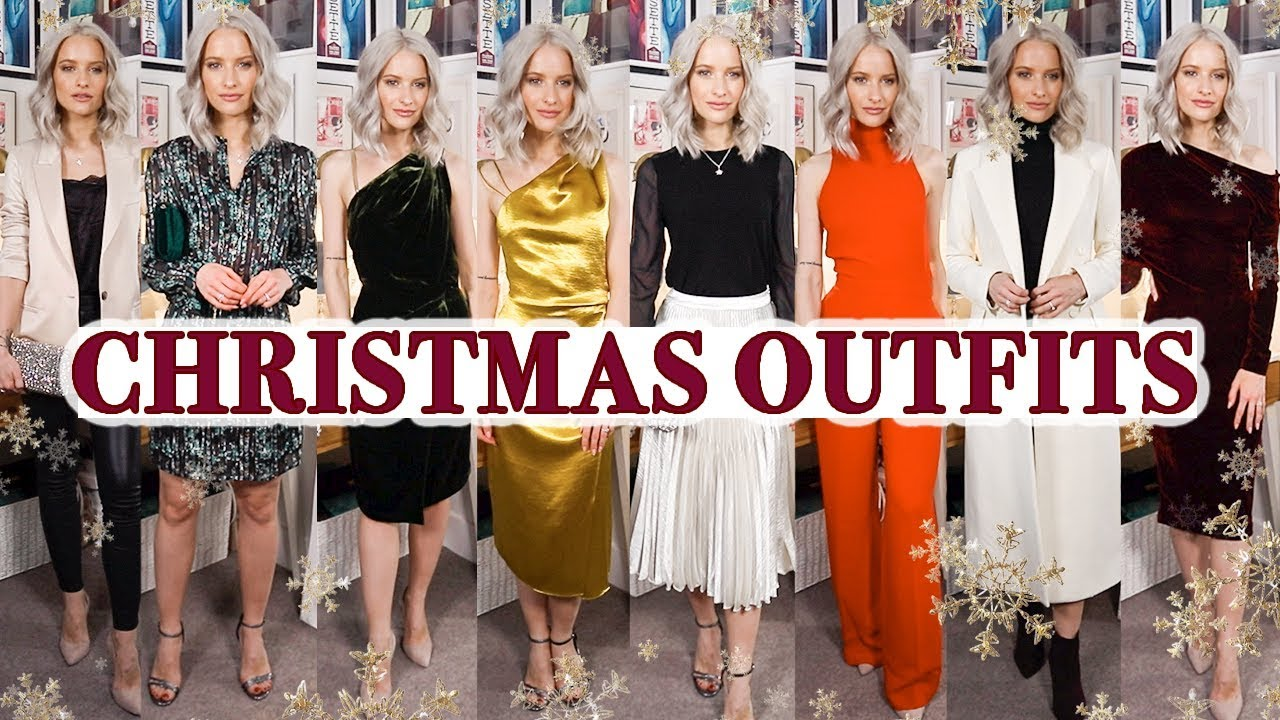 Christmas Party Outfits.10 Christmas Party Outfits Haul And Try On Ad