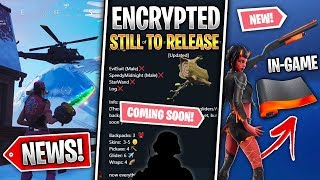 Season 8 LOCKED Skins List, Heat Wrap LEAKED, Helicopter, China & More! (Fortnite News)