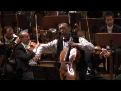 Brahms Double Concerto, Andante , Hristo Popov, violin & Kalin Ivanov, cello