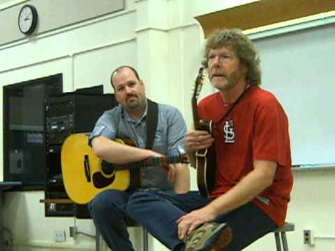 Sam Bush Red Haired Boy and start of workshop.  Jethro Burns licks, scales, etc.