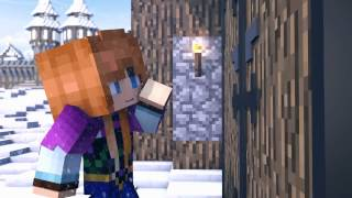 Do You Want to Build a Snowman (Parodia Animacion de Minecraft)