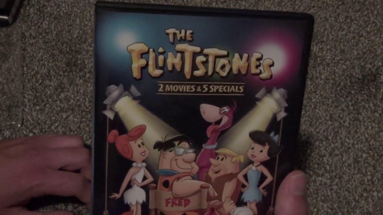The Flintstones: 2 Movies & 5 Specials DVD Unboxing