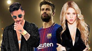 Baixar El Momento Incómodo Que Vivió Maluma Con Piqué Por Shakira ¡ NO TE LO PIERDAS !