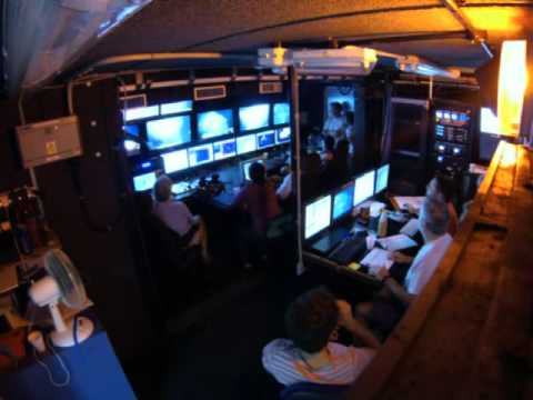 1 hour in ROV control centre in 1 minute