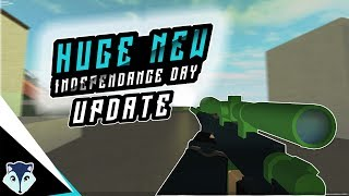 Huge New Roblox Phantom Forces Update | Independence Day Update