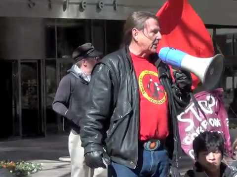 Glenn Morris Speaking at Occupy Denver about Suncor and Tar Sands