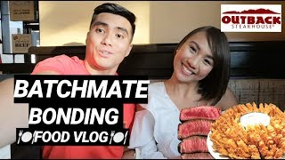 FIRST TIME FOOD VLOG WITH MY BATCHMATE (SO GOOD)