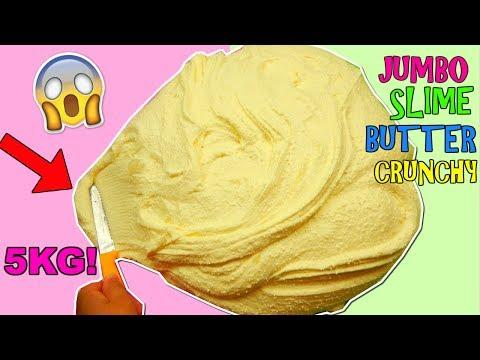 JUMBO SLIME BUTTER CRUNCHY! (5 KG DI SLIME EPICO!) Iolanda Sweets