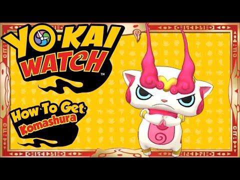 Yo-Kai Watch - How To Get LEGENDARY Komashura EASY! [Tips & Tricks]