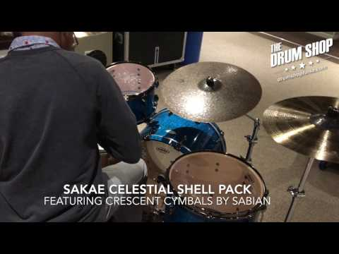 Sakae Celestial in Limited Edition Tamo Ash in Transparent Caribbean Blue Lacquer Part 2